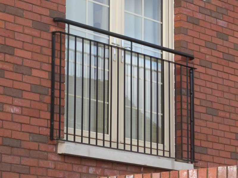 Купить ограждение балкона из металла по низким ценам на сайт.